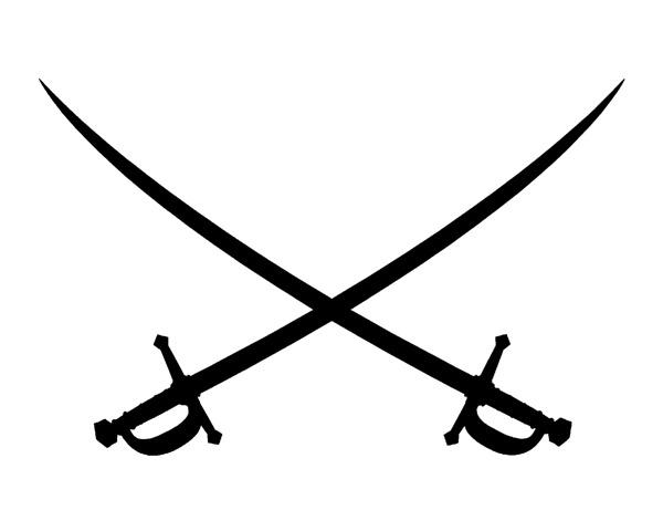Pirate Sword Crossed