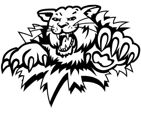 uk wildcat coloring pages - photo#6